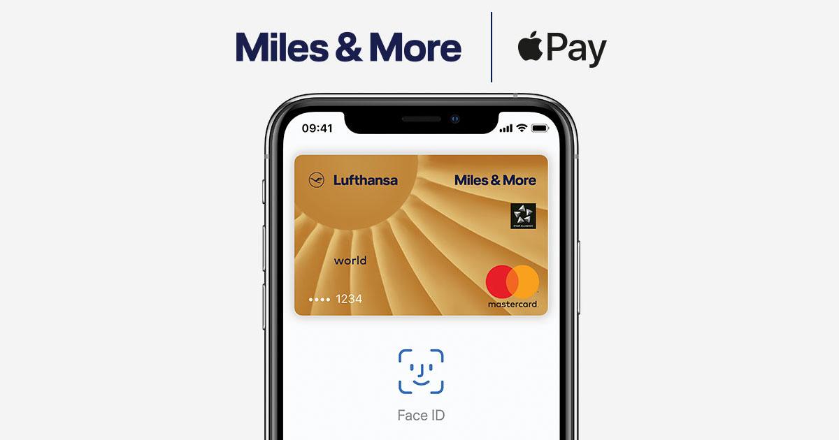 Sicher und einfach bezahlen – mit Apple Pay Miles & More Kreditkarte
