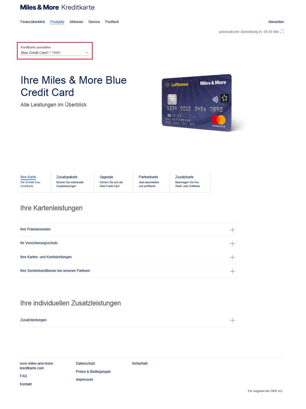 online kartenkonto kurz erkl rt miles more kreditkarte. Black Bedroom Furniture Sets. Home Design Ideas